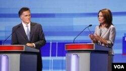 La congresista se retiró de las primarias republicanas tras los bajos resultados cosechados en Iowa en enero de 2012.