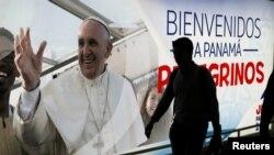 Ibicapo vyerekana uko Panama yiteguriye kwakira Papa Fransisko