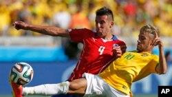 APTOPIX Brazil Soccer WCup Brazil Chile