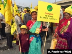 Farmers poured into the streets of New Delhi four weeks ago to draw attention to declining farm incomes - it was their fourth protest in 2018. The growing rural anger could hurt Prime Minister Modi in general elections that are months away.