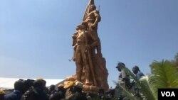 Zimbabwe Heroes Acre, Harare.