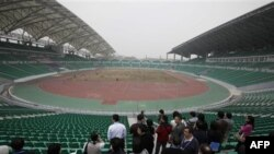 Phần lớn các sân vận động đều trống trơn khi các sự kiện thể thao này diễn ra