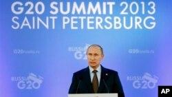 El presidente ruso, Vladimir Putin, fue el anfitrión de la cumbre del G-20.