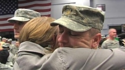 US Troops Return From Iraq to Reflect on Their Future at Home Base