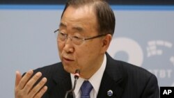 Ban Ki-moon, Sakataren Majalisar Dinkin Duniya ko MDD