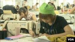 柬埔寨製衣工人(視頻圖片)