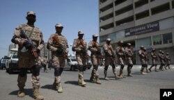 کراچی میں یوم عاشور پر سیکیورٹی انتظامات