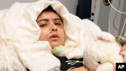 Remaja puteri Pakistan, Malala Yousufzai masih dirawat di Rumah Sakit Queen Elizabeth di Birmingham, Inggris (foto: dok).