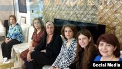دیدار فائزه هاشمی با رهبران جامعه بهائيان
