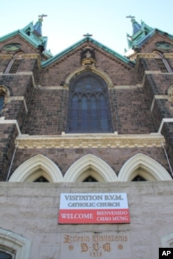 Visitation Parish, which includes a church, community center and school, has a halo effect of $22 million, according to the new report.