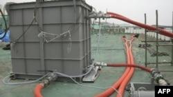 Оборудование для очистки воды на японской АЭС