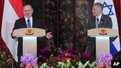 آقای نتانیاهو گفت که تفکر جهان عرب در برابر اسرائیل تغییر کرده و امیدوار است که این تغییر سبب حل منازعۀ اسرائیل-فلسطین نیز گردد