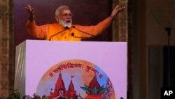 بھارت میں اس سال اپریل اور مئی کے مہینوں میں عام انتخابات ہونے ہیں۔