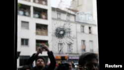Scenes From Paris Terror Attacks