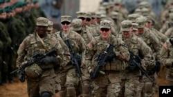 Les premiers soldats américains sont arrivés lundi 12 octobre au Cameroun. (Archives AP)