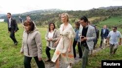 Ivanka Trump permanecerá en Colombia hasta el miércoles y estará acompañada por la vicepresidenta de Colombia Marta Lucía Ramírez.