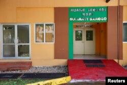 Ruang isolasi di Rumah Sakit Sulianto Saroso, di Jakarta, 28 Februari 2020. (Foto: Reuters)
