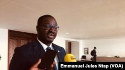Dowogonan Kone, directeur général de Jumia Cameroun à Yaoundé, le 17 septembre 2019. (VOA/Emmanuel Jules Ntap)