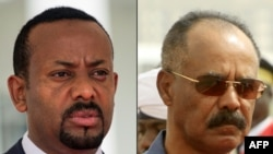 Firai Ministan Ethiopia Abiy Ahmed, da shugaban kasar Eritrea Isaias Afwerki