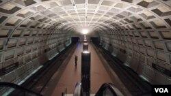 Платформа однієї із станцій метрополітену столиці США