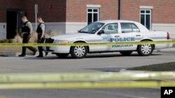 Policijska stanica u Fergusonu, 12. mart 2015.