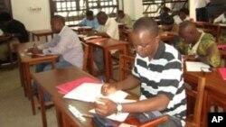 Des étudiants à Kigali au Rwanda