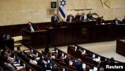 نمایی از مجلس اسرائیل که به کنست مشهور است.
