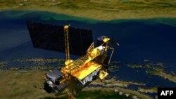 Обломки спутника Upper Atmosphere Research Satellite (UARS) в субботу рухнули на Землю