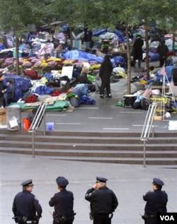 Logistika pokreta Okupirajmo Wall Street