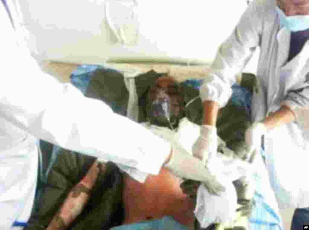 Jamyang Palden's charred body