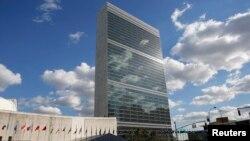 نمایی از مقر سازمان ملل متحد در نیویورک، شرق ایالات متحده - آرشیو