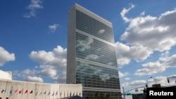 Здание штаб-квартиры ООН в Нью-Йорке (архивное фото)