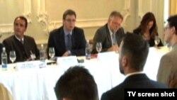 Delegacija na Poslovnom forumu u Švajcarskoj, 16. jun 2015.