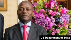 José Mario Vaz, président de la Guinée-Bissau, 5 avril 2014.
