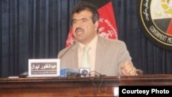 غفور لیوال سرپرست وزارت سرحدات و قبایل افغانستان