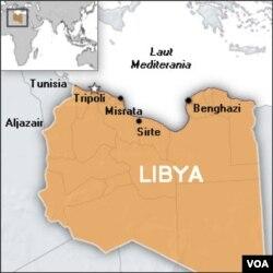 Pertempuran bersenjata di Libya terkonsentrasi di pesisir utara negara tersebut.