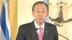 Ban: Security Council Understands 'Urgency' of Syria Situation