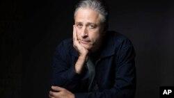 Jon Stewart posa para un retrato durante la promoción de su película 'Rosewater.'
