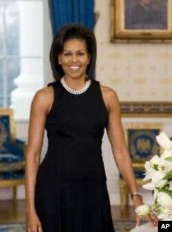 Michelle Obama en juin 2011