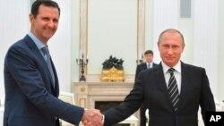 APTOPIX Russia Syria