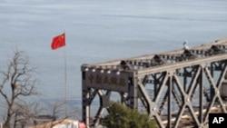 중국과 북한을 잇는 압록강 다리 (자료사진)