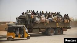 Abimukira mu bugararwa bwa Agadez muri Nijeri berekeza mu Bulayi.