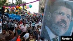Protest pristalica svrgnutog egipatskog predsednika Mohameda Morsija