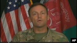 Thiếu tướng Charles Cleveland, người phát ngôn của sứ mạng Quyết tâm Hỗ trợ do NATO lãnh đạo.