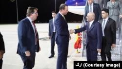 رئیس جمهور غنی شام یکشنبه به وقت محل وارد کانبرا شد