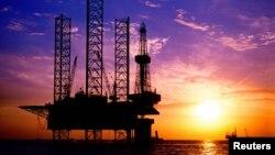 Giàn khoan trên biển của tập đoàn dầu khí quốc doanh Trung Quốc CNOOC
