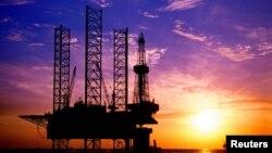 Kilang minyak milik China National Offshore Oil Corporation's (CNOOC) di China.