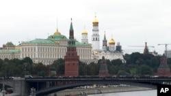 莫斯科的克里姆林宮。