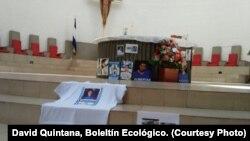 Familiares de presos políticos en Nicaragua protestaron el domingo, 28 de abril de 2019, en Managua.