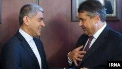 دیدار وزیر اقتصاد و انرژی آلمان با وزیر اقتصاد ایران